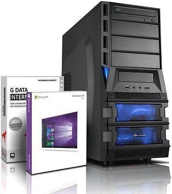 PC Quad Core Computer GAMER A8 7600 16GB 1TB Rechner Komplett Windows 10