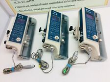 Lot Of 3 Used Baxter Healthcare Pca Ii Syringe Infusion Pump With Bolus Cable
