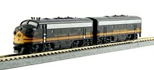 KATO N Scale EMD F7 A-b Set Standard DC Northern Pacific #6012a 6012b