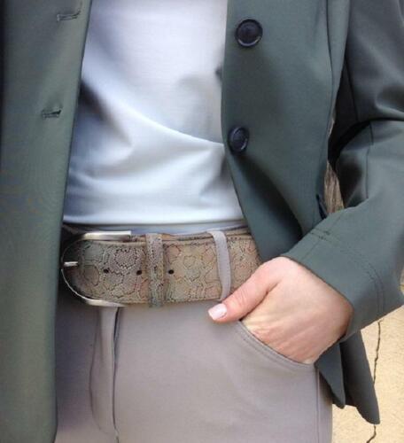 Tailored Sportsman Snake Embossed Belt