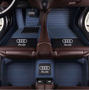 Right-rudder-Car-Floor-Mats-For-AUDI-A8-A8L-Q2-Q3-Q5-Q7-R8-A5-A7-A4-A6-A3-A1
