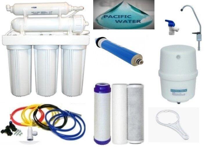 Osmose Inverse Filtre à Eau Osmose Inverse Système 5 étapes de filtration d'eau