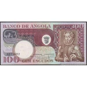 TWN - ANGOLA 106 - 100 Escudos 10-6-1973 AU-UNC - Various prefixes lnUltjiy-07140800-234628888