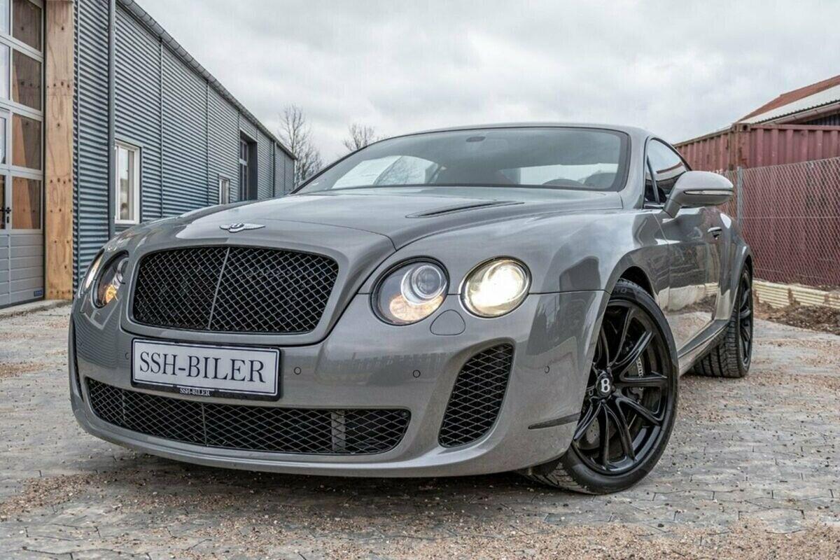 Bentley Continental Supersports 6,0 aut. 2d