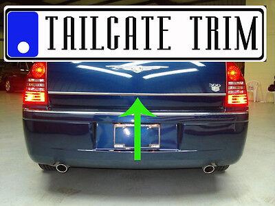 Chrysler 300C 05 06 07 08 09 Chrome Tailgate Trunk Trim