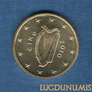 Irlande 2010 50 Centimes d'Euro SUP SPL Pièce neuve de rouleau - Eire