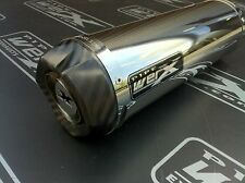 Suzuki GSXR 600 750 K8 K9 L0 Stainless Steel Carbon Outlet Exhaust Can Rd Legal