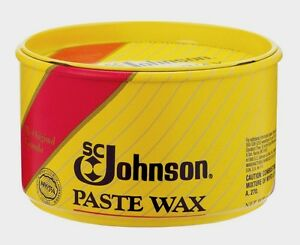 New Sc Johnson Paste Carnauba Wax 1 Lb Wood Metal Cork