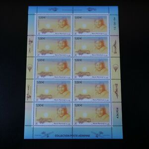 Feuille-Sheet-Stamp-post-Aerial-Pa-N-67-x10-2004-Neuf-Luxe-Mnh