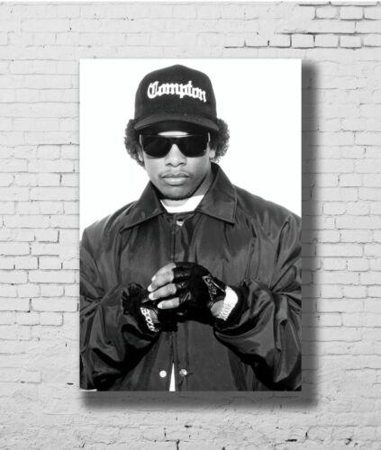 W452 24x36 14x21 40 Poster Eazy E NWA Rapper Singer Star Art Hot