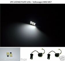 Volkswagen GOLF GTI LED MK6 MK7 LICENSE PLATE LEDS - ERROR FREE
