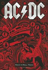 AC/DC - Rock n Roll Train - Flagge Posterfahne Textilposter Flag #920981