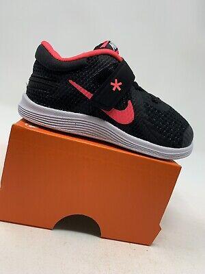 Black /& Pink TODDLER GIRL Nike Revolution 4 Shoes Size 9C 943308-004