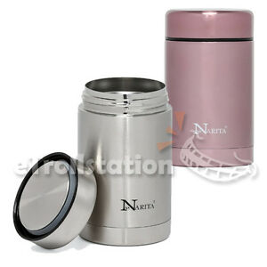 Narita Thermos Vacuum Insulated Food Jar Stainless Steel