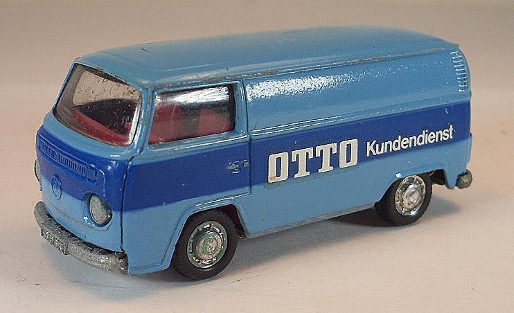 SCHUCO 1 66 Nº 311 911 VW Transporter t2 Volkswagen Otto publicitaires modèle I box  329