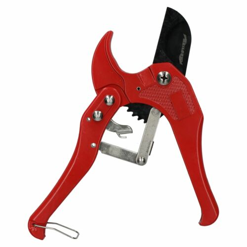Ratcheting Plastic PVC Tube Cutter For Pipes Up To 42mm Plumbing Cutting Tool