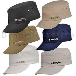 Authentic KANGOL Flexfit Cotton Ripstop Army Cap Hat K0533CO S M L ... 7d3b5972bd3