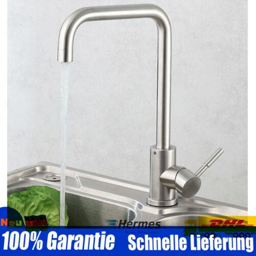 NEU Küchenarmatur Spültischarmaturen Wasserhahn Küche Armatur 360° 304Edelstahl
