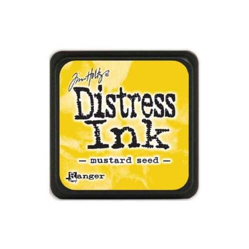 Yellow Mustard Seed Tim Holtz Mini Distress Ink Pad