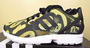 adidas zx flux torsion leopard print animal womens trainers nz
