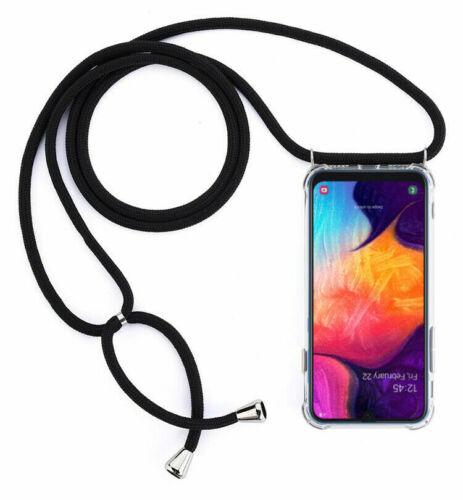Cadena móvil funda bolsa mantos con collar de cubierta protectora case cuerda negro