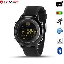 Lemfo Bluetooth IP67 Impermeable Podómetro Reloj Inteligente Para Android iOS