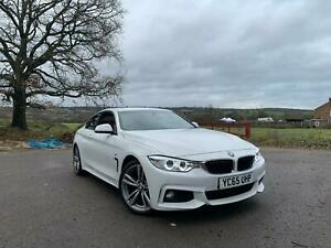 BMW 4 SERIES 420D M SPORT COUPE  RED LEATHER-SUN ROOF-HEATED SEATS-FSH-AUTOMATIC