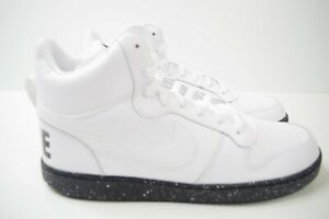 NIKE-COURT-BOROUGH-Mid-White-Size-UK-12-nos-13-EUR-47-5-916759-100