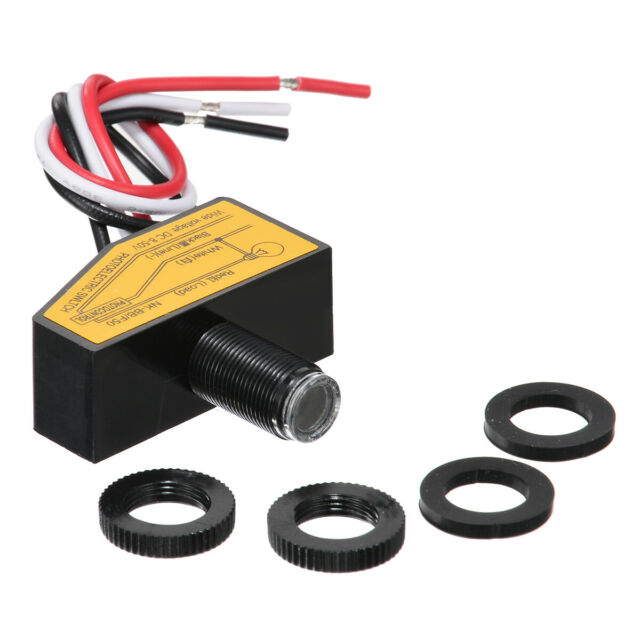 12v 24v 36v 48v Automatic Light Control Sensor Dusk To
