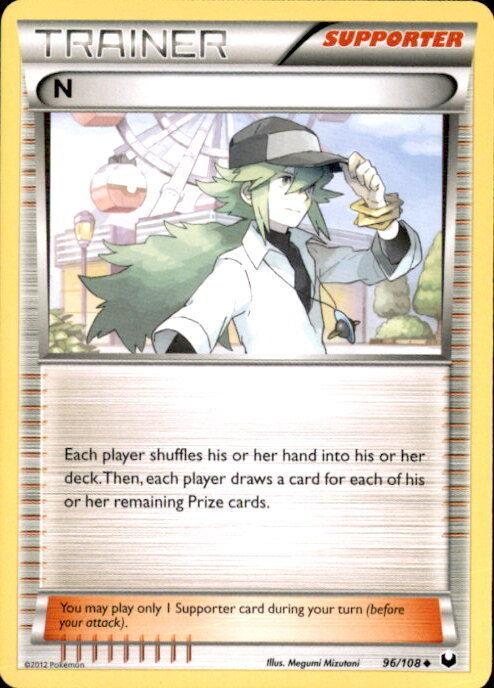 65//108 Escroco-n/&b pokemon card new france obscure explorers