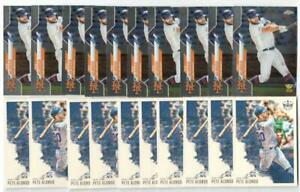 x100 PETE ALONSO Mixed 2019-2020 Rookie Card lot/set Topps Chrome Update Gold RC