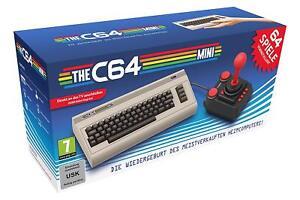 The-C64-Mini-Konsole-DHL-NEUWARE