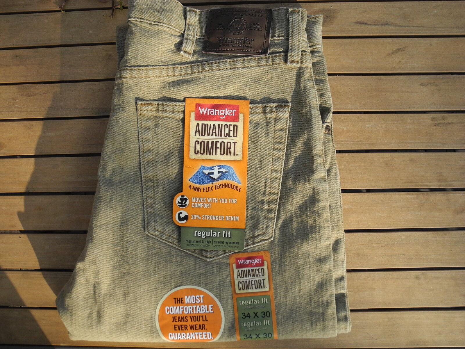 WRANGLER ADVANCE COMFORT Stretch HERREN JEANS regular fit  NEU Viele Größen  | Elegante Und Stabile Verpackung  | Verkauf  | Charakteristisch