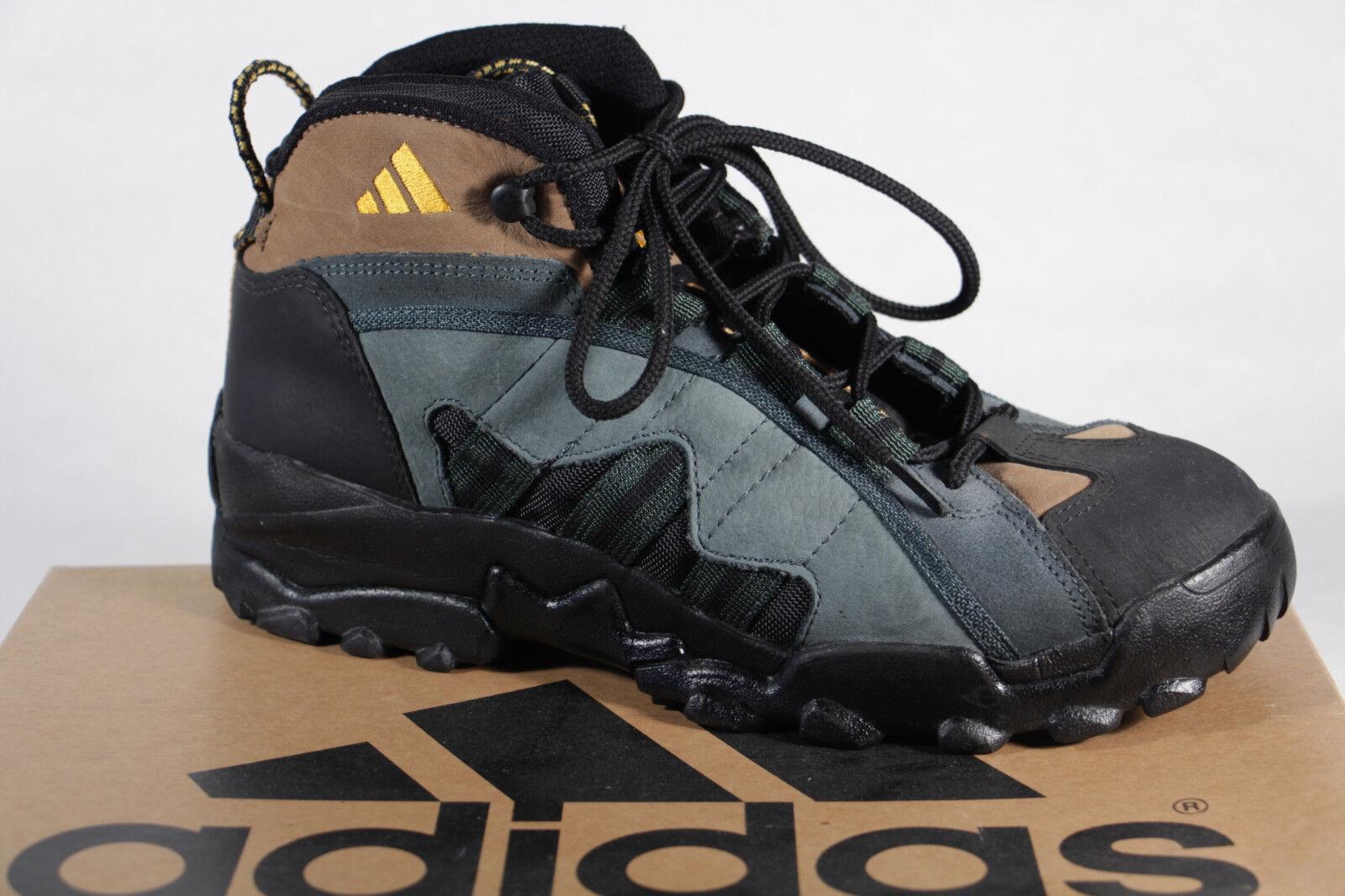 Adidas Herren Wanderstiefel A3 Leder Neu grün/braun/Negro  078433A3  Neu Leder a66177