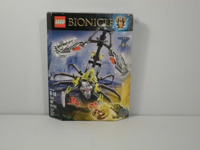 LEGO 70794 Skull Scorpio from the Bionicle Series of Lego New in Pkg!