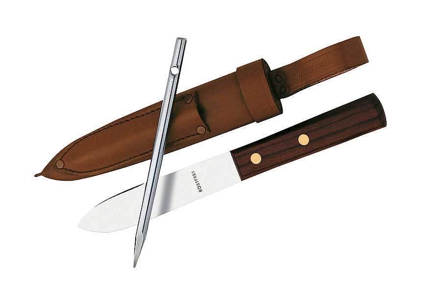 Herbertz MatRosan-Messer, mit Marlspieker Leadwood-Griffschalen,119313  | Speichern