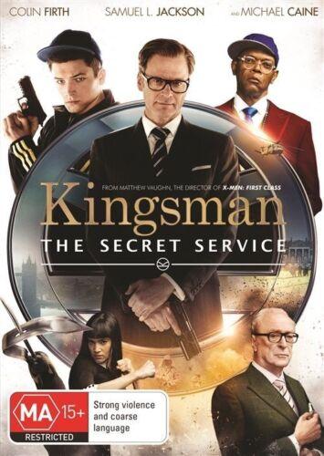 1 of 1 - The Kingsman - Secret Service (DVD, 2015) NEW R4