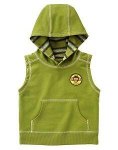 Gymboree-Little-Monkey-Hooded-Tank-6-12-Months-NWT