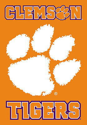 KH Sports Fan 40x10 Sign with Logo Clemson Tigers