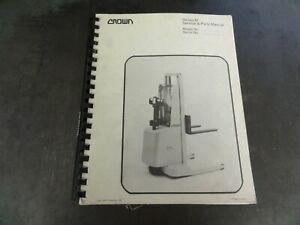 Crown-Lift-Trucks-Series-M-Lift-Service-Manual-PF-2629-11-87