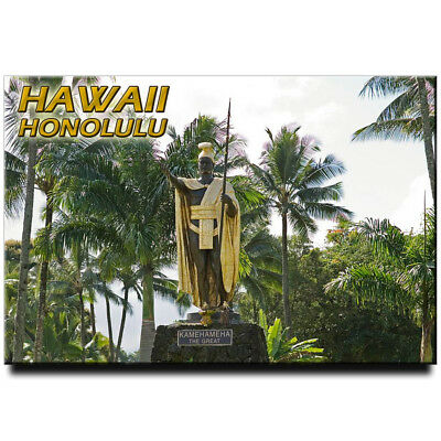 Flag of Hawaii Fridge magnet Oahu travel souvenir Honolulu Maui Kauai