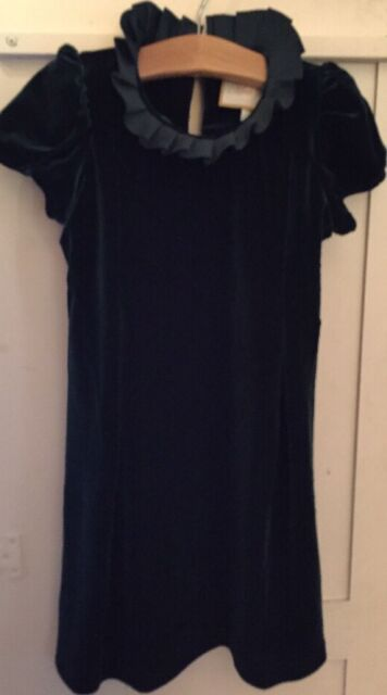 `Girls Boutique 5 Moo Boo's Black Velour Dress NEW Holiday ...