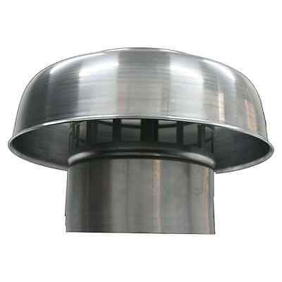 Deflecto Roof Mushroom Cowl Aluminium 100mm, 125mm, 150mm or 200mm
