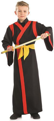 Bambini Giapponese Costume Orientale Arti Marziali per Bambini Ragazzi Ragazze Costume Nuovo
