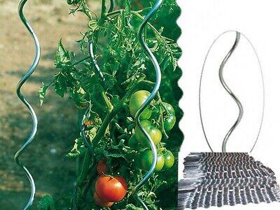 Tomaten Spiralstab Rankspirale Pflanzstab 110 cm Verzinkter Stahl T5H9 5 Stk