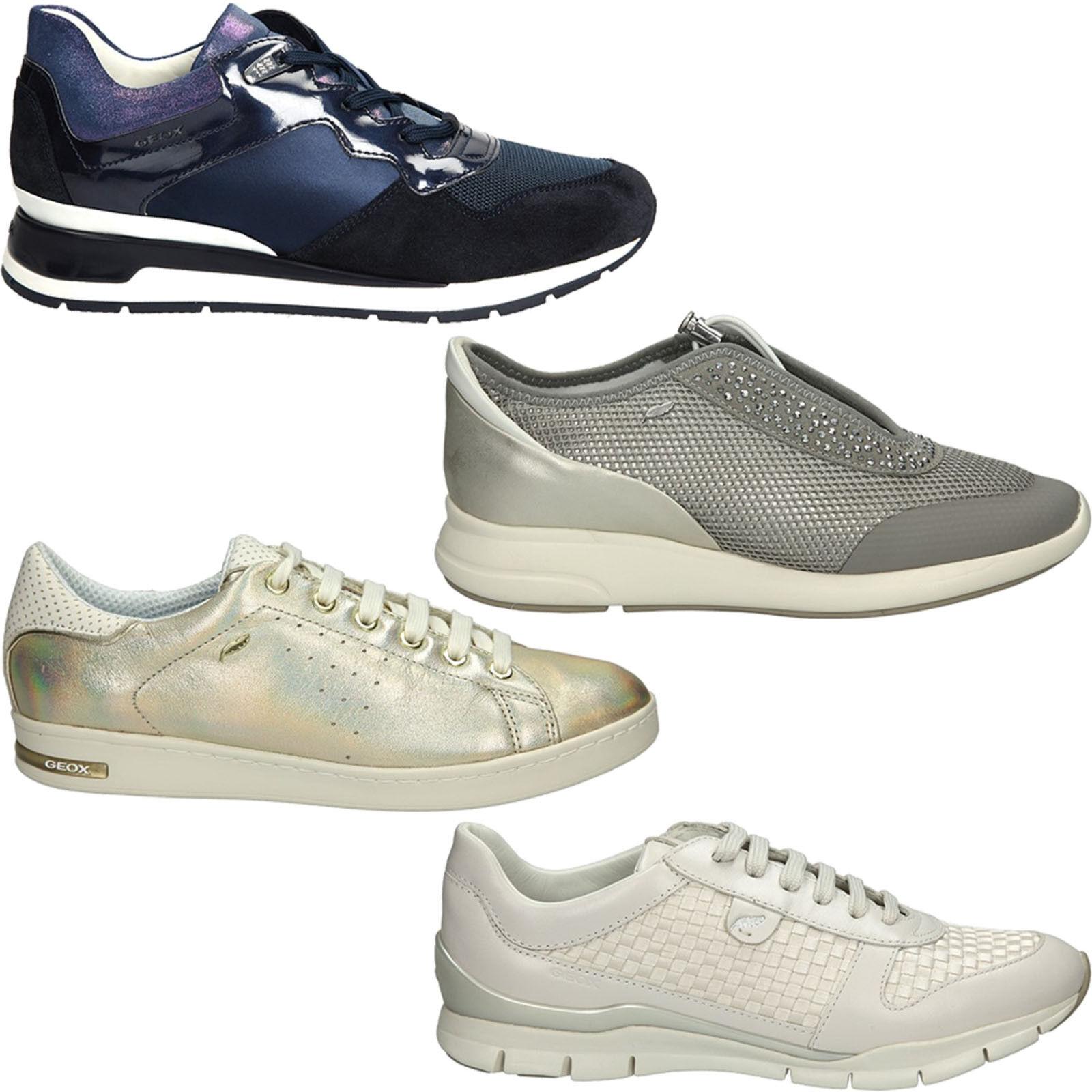 Zapatos señora zapatos deportivos GEOX, schnürzapatos cómodo durante todo el año nuevo
