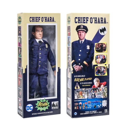 environ 20.32 cm Chef O /'Hara action figures Batman Classic TV Series Boxed 8 in