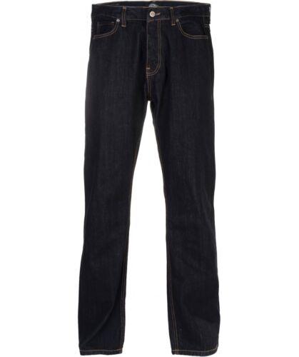 Dickies MICHIGAN Regular Fit Jeans Pantalon pant denim//Rinsed Dark Blue Bleu