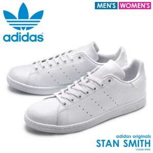 brand new c4824 6a597 Details about Adidas Originals Stan Smith Leather Lea Sock CQ3031 Triple  White Mens 10.5 Shoes