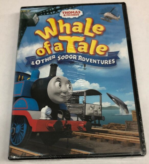 Thomas Friends: Whale of a Tale Other Sodor Adventures (DVD, 2017)